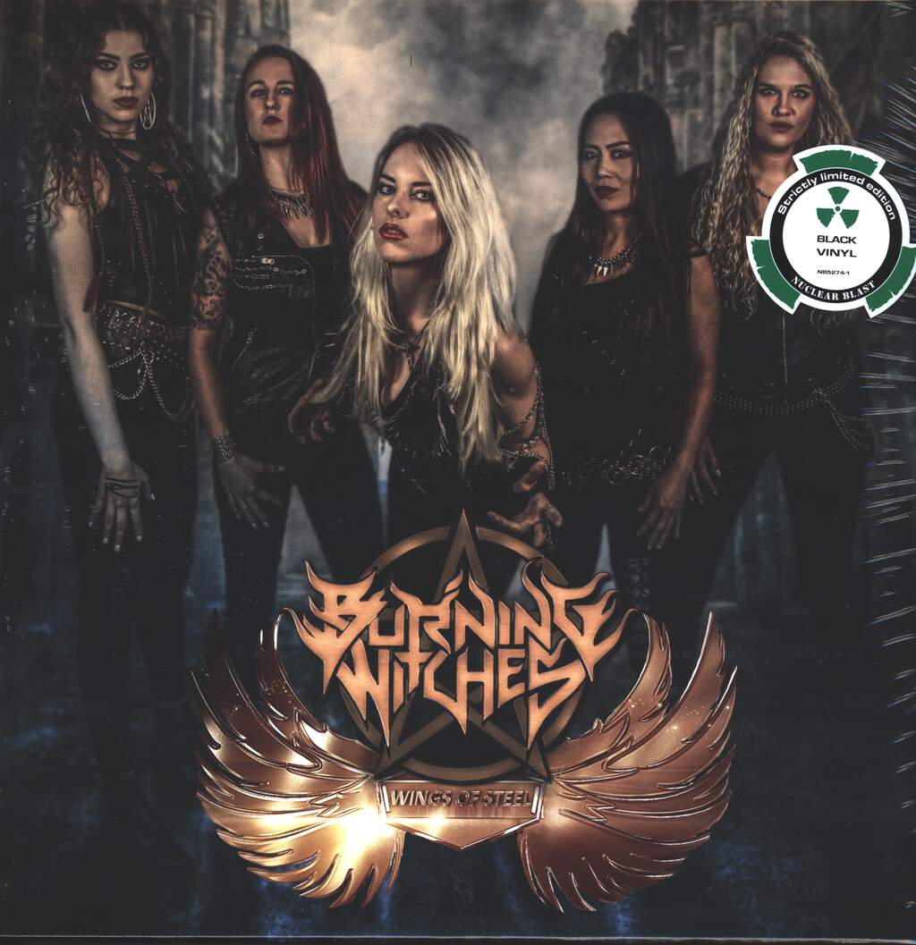 """Burning Witches: Wings Of Steel, 12"""" Maxi Single (Vinyl)"""