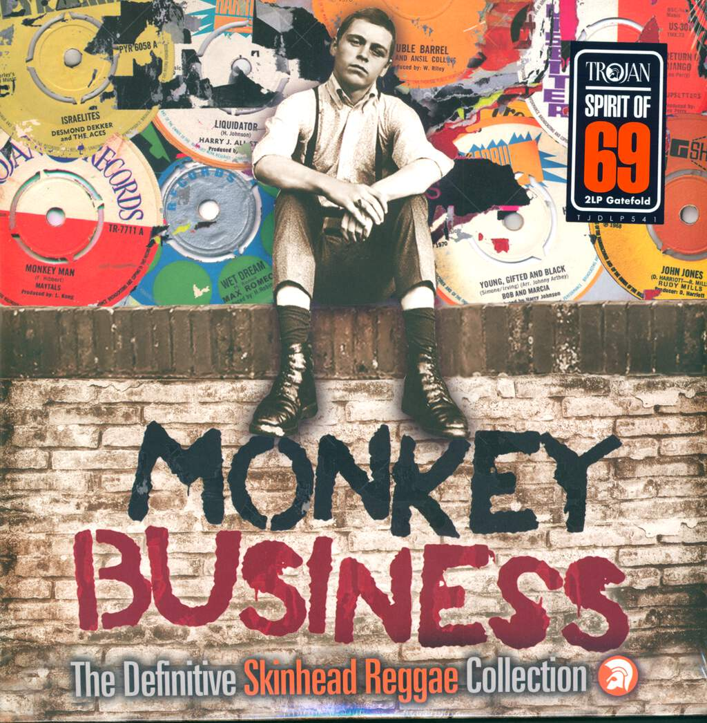 Various: Monkey Business (The Definitive Skinhead Reggae Collection), 2×LP (Vinyl)