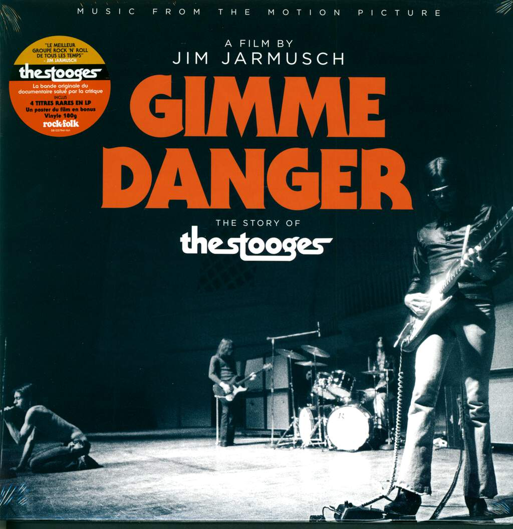 The Stooges: Gimme Danger (Music From The Motion Picture), LP (Vinyl)