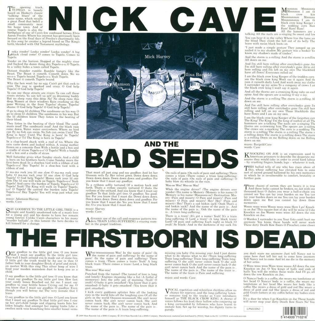Nick Cave & The Bad Seeds: The Firstborn Is Dead, LP (Vinyl)