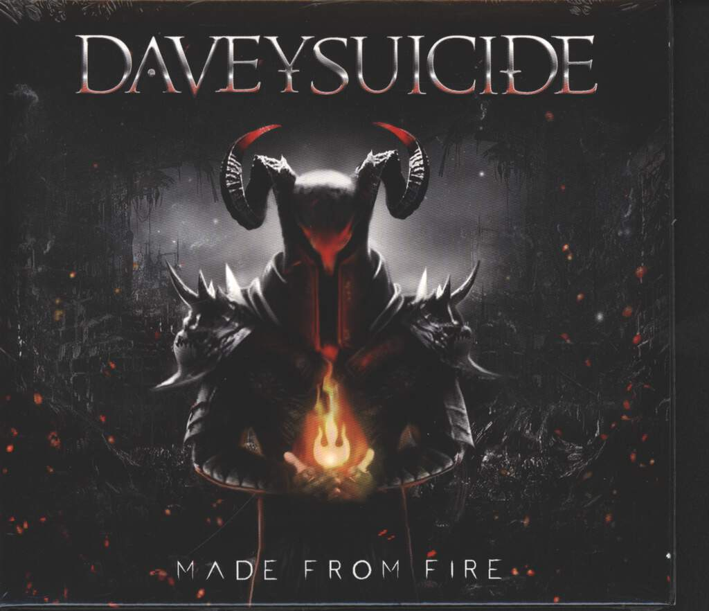 Davey Suicide: Made From Fire, CD