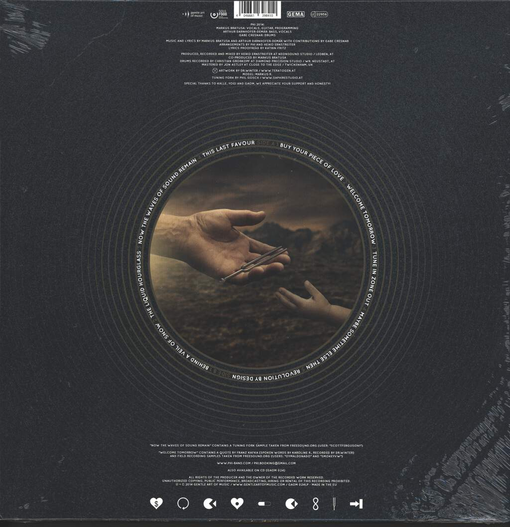Phi: Now The Waves Of Sound Remain, LP (Vinyl)