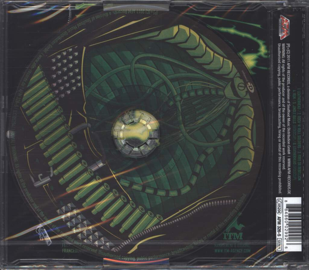 U.D.O.: Leatherhead, Mini CD