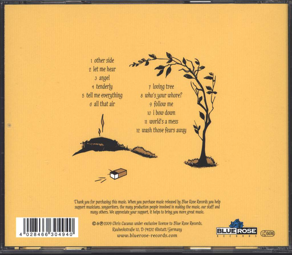 Chris Cacavas: Love's Been Discontinued, CD