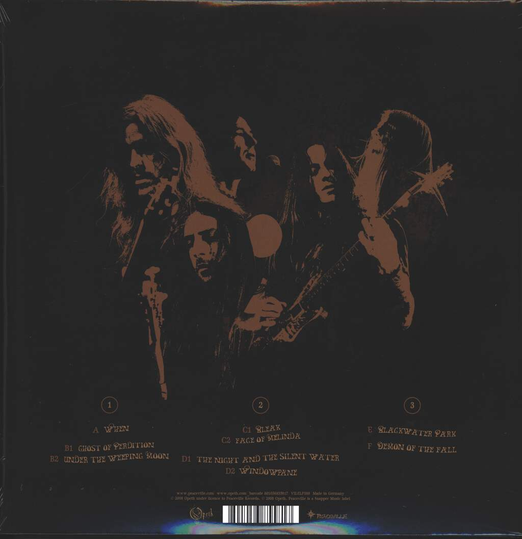 Opeth: The Roundhouse Tapes, 3×LP (Vinyl)