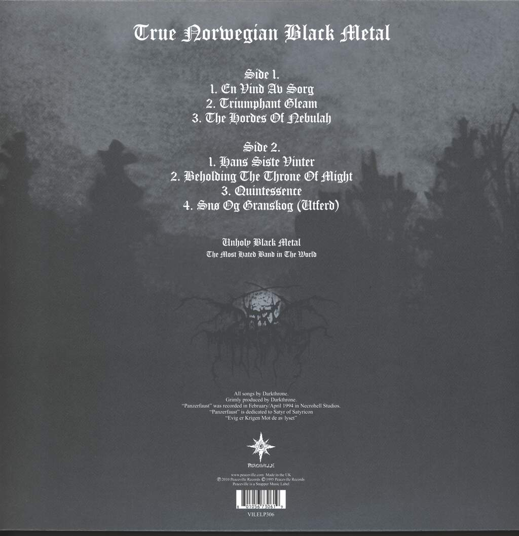 Darkthrone: Panzerfaust, LP (Vinyl)