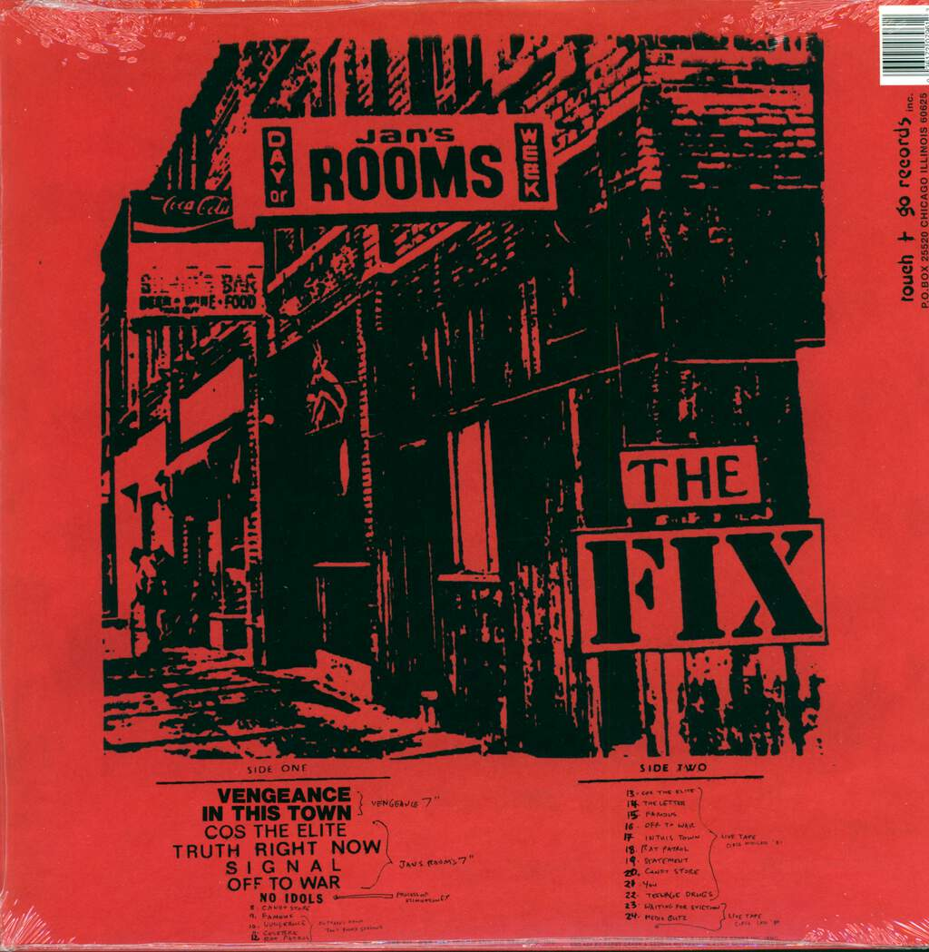 The Fix: At The Speed Of Twisted Thought..., LP (Vinyl)