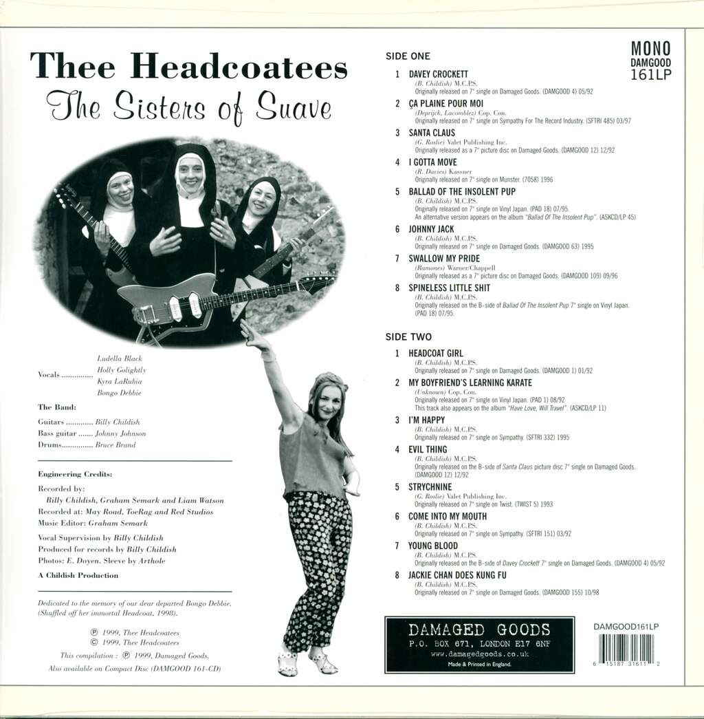 Thee Headcoatees: The Sisters Of Suave, LP (Vinyl)