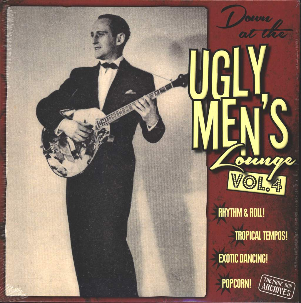 """Various: Down At The Ugly Men's Lounge Vol. 4, 10"""" Vinyl EP"""
