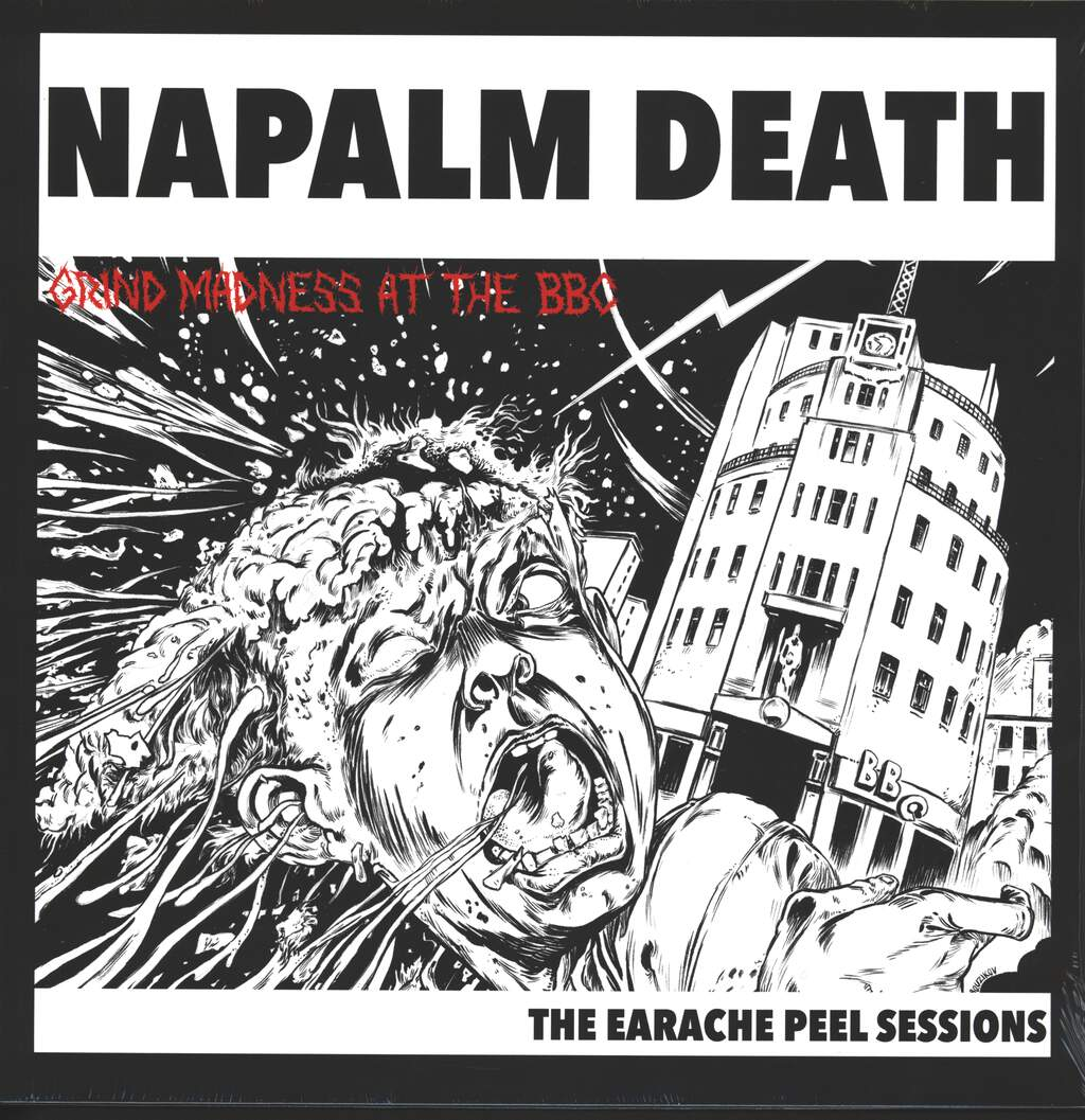 Napalm Death: Grind Madness At The BBC - The Earache Peel Sessions, LP (Vinyl)