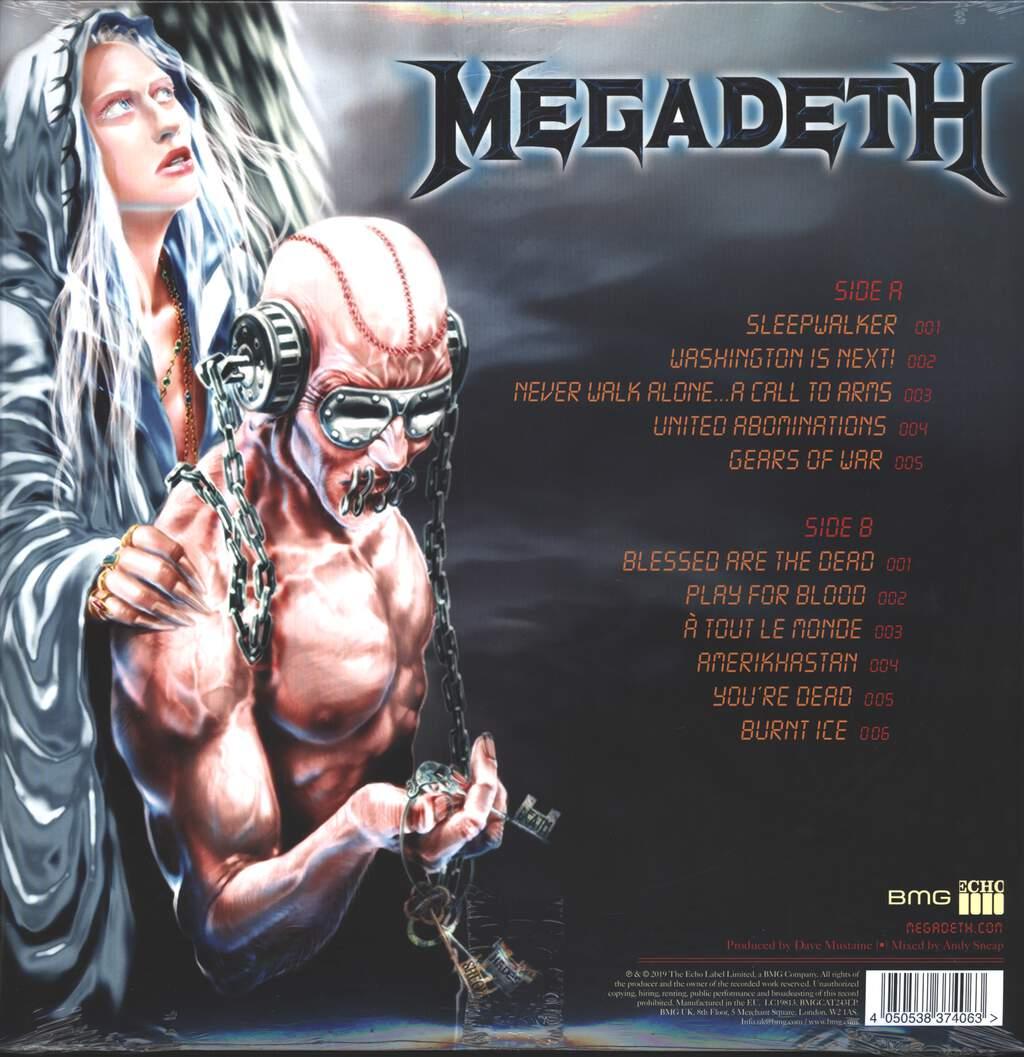 Megadeth: United Abominations, LP (Vinyl)