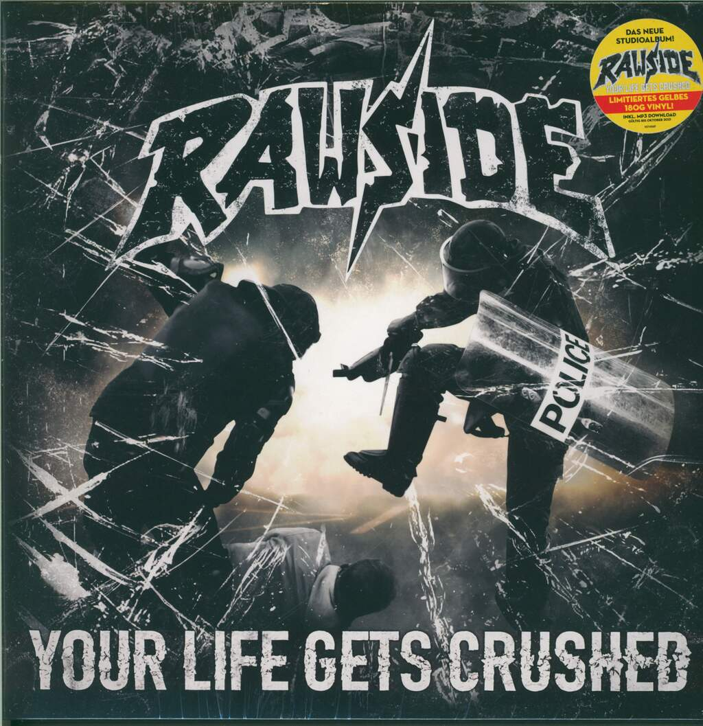 Rawside: Your Life Gets Crushed, LP (Vinyl)