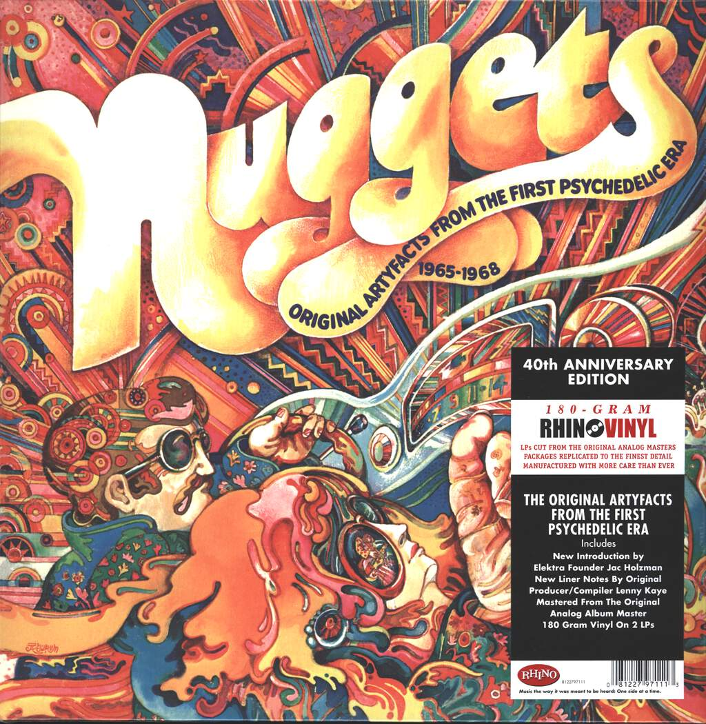 Various: Nuggets: Original Artyfacts From The First Psychedelic Era 1965-1968, 2×LP (Vinyl)