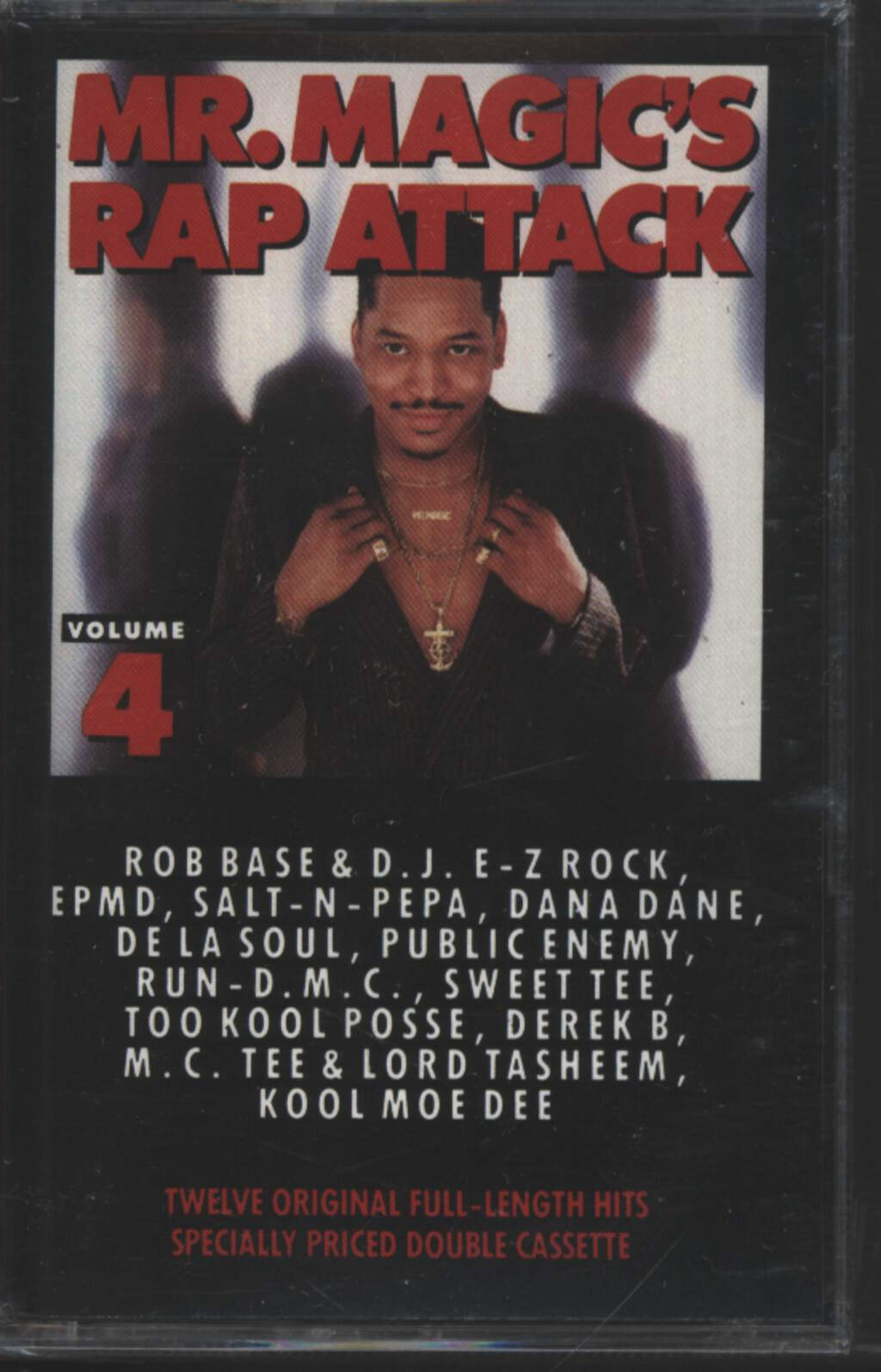 Mr. Magic: Mr. Magic's Rap Attack Volume 4, Tape