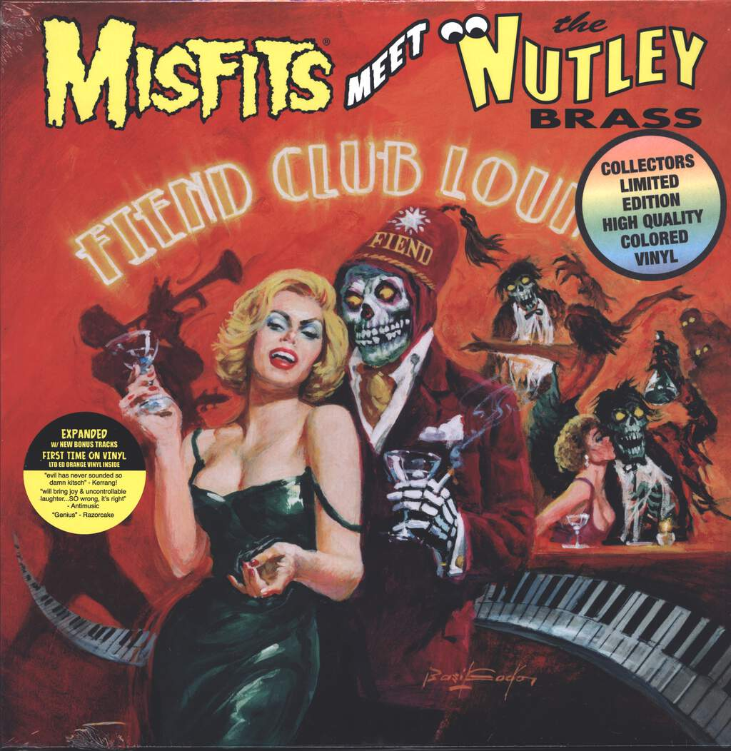 The Nutley Brass: Misfits Meet The Nutley Brass - Fiend Club Lounge, LP (Vinyl)