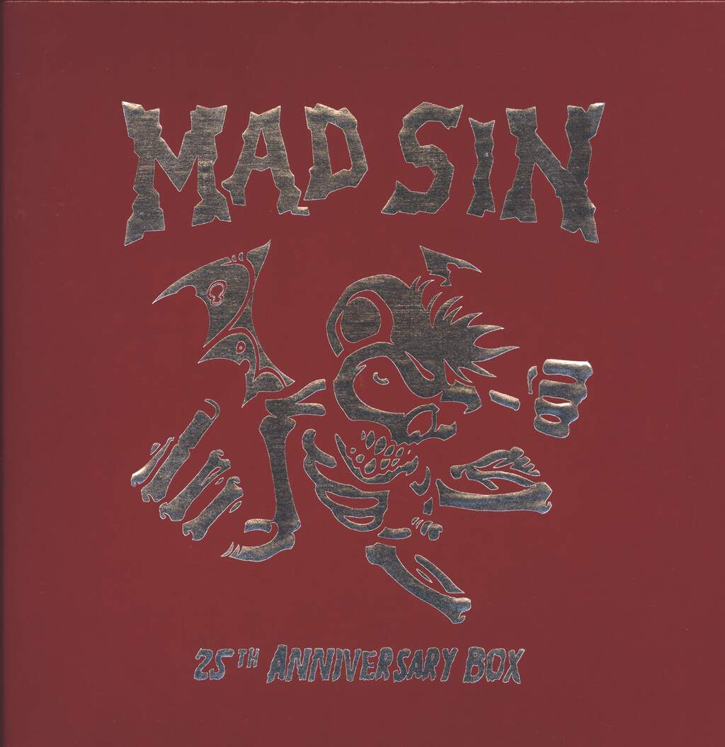 Mad Sin: 25th Anniversary Box, 4×LP (Vinyl)