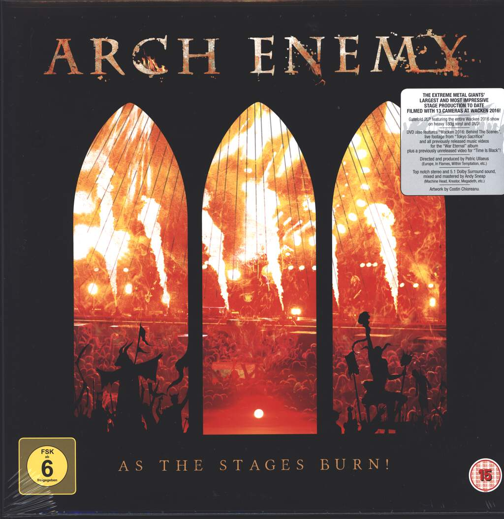 Arch Enemy: As The Stages Burn!, 2×LP (Vinyl)
