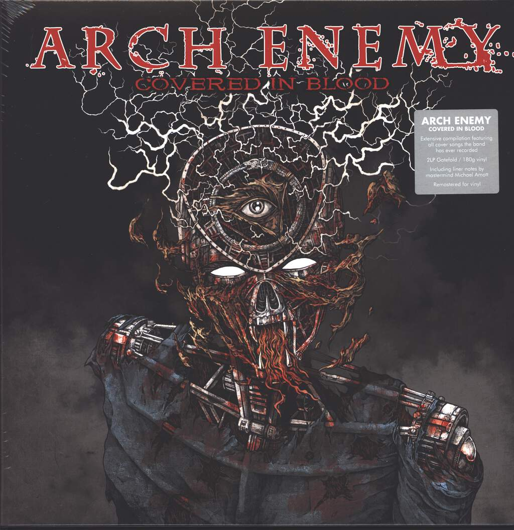 Arch Enemy: Covered In Blood, 2×LP (Vinyl)