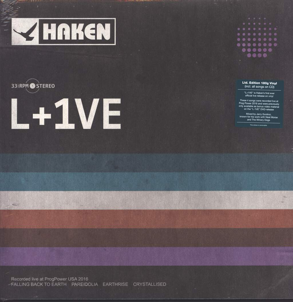 Haken: L+1VE, LP (Vinyl)