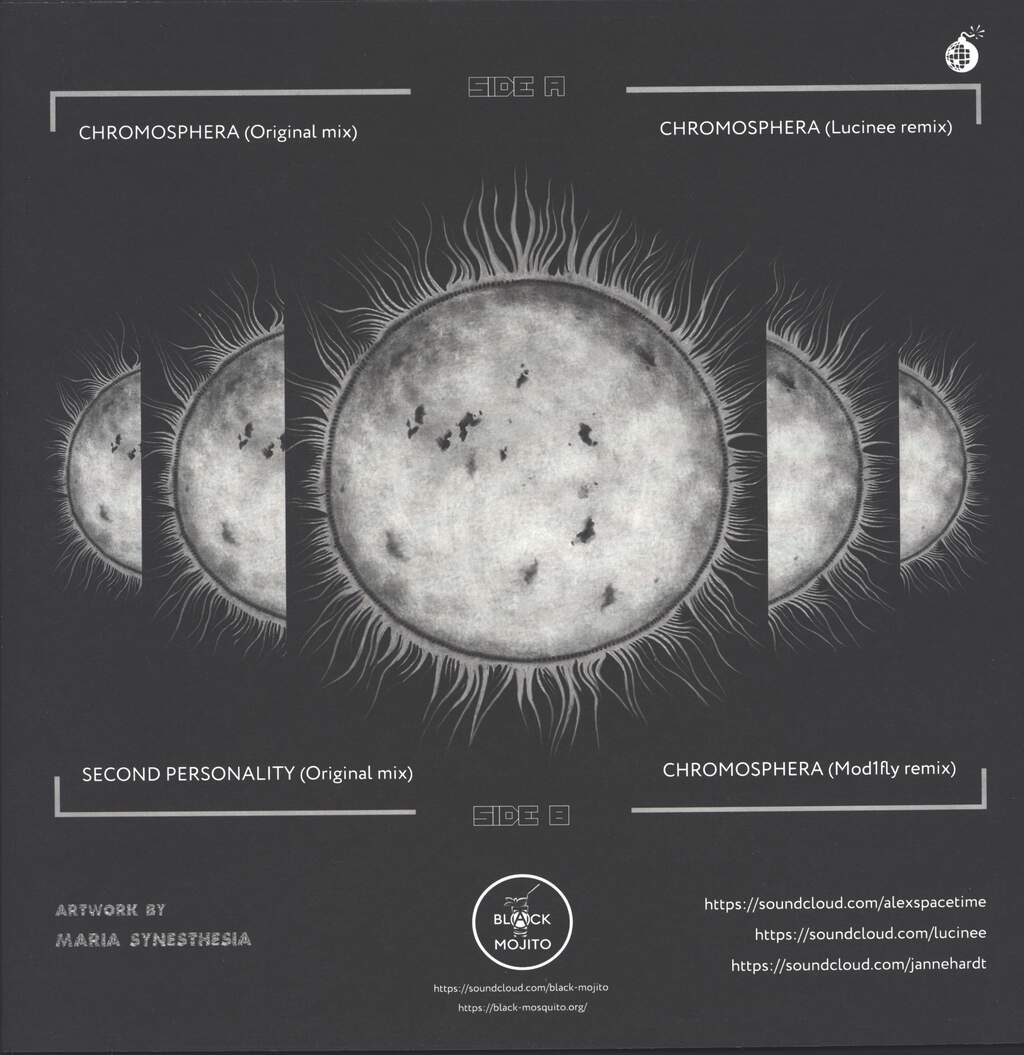 "Alex Spacetime: Chromosphera, 12"" Maxi Single (Vinyl)"