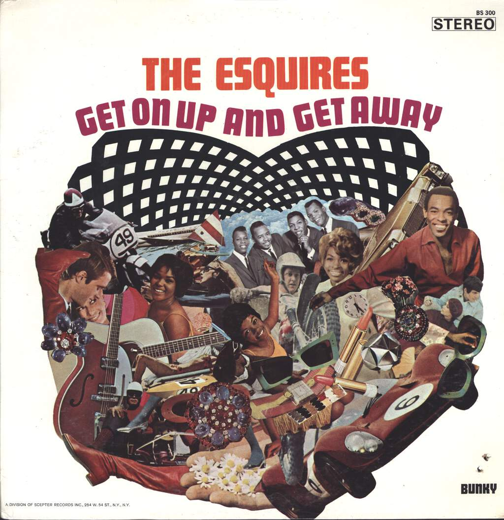 The Esquires: Get On Up And Get Away, LP (Vinyl)