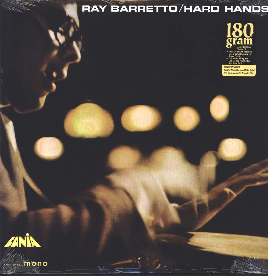 Ray Barretto: Hard Hands, LP (Vinyl)