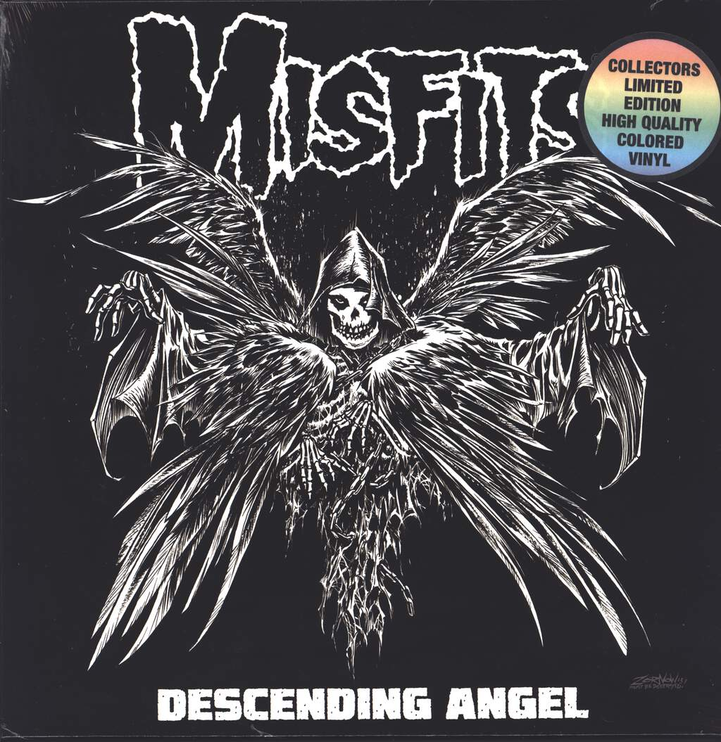 "Misfits: Descending Angel, 12"" Maxi Single (Vinyl)"