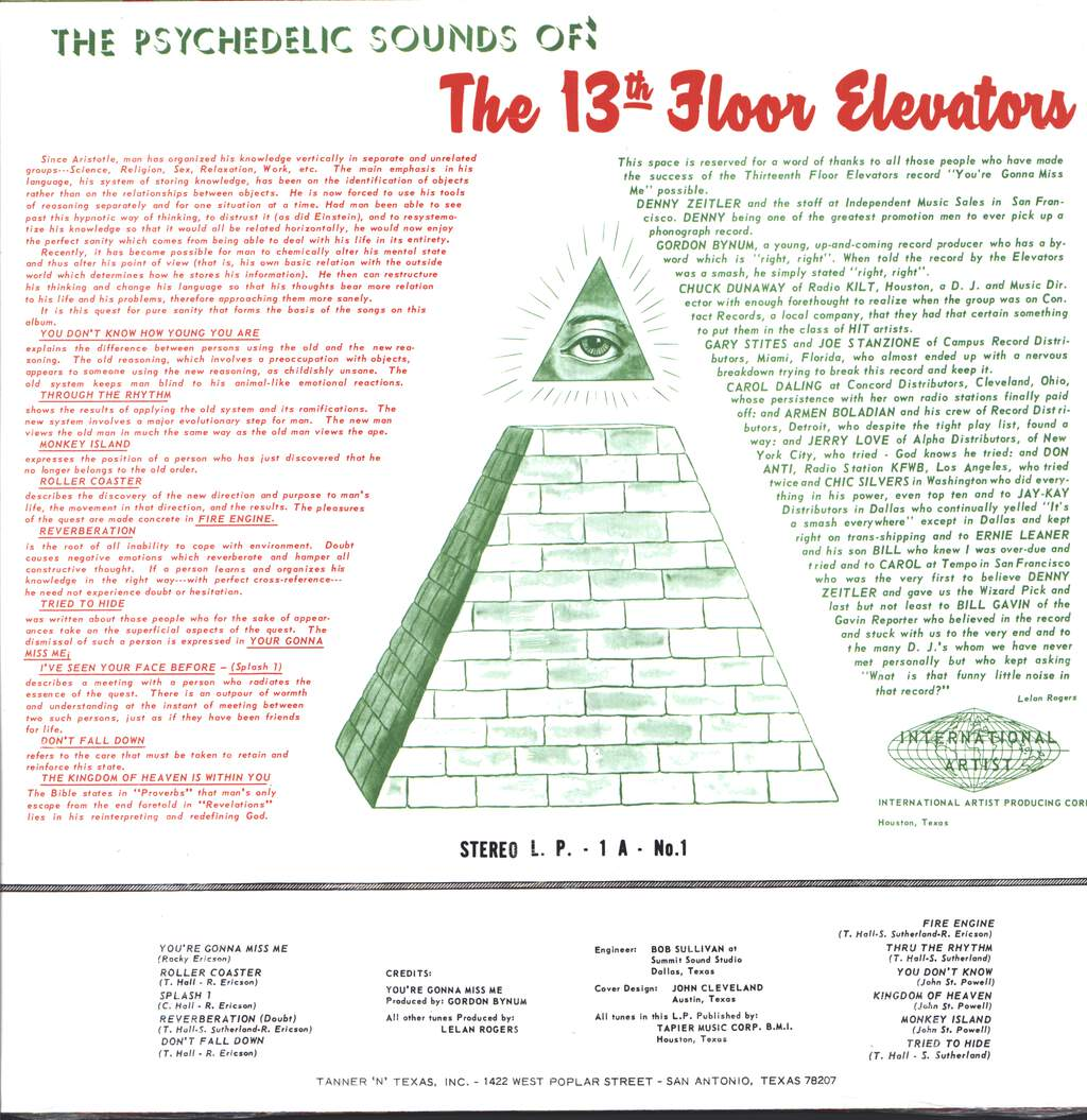 13th Floor Elevators: The Psychedelic