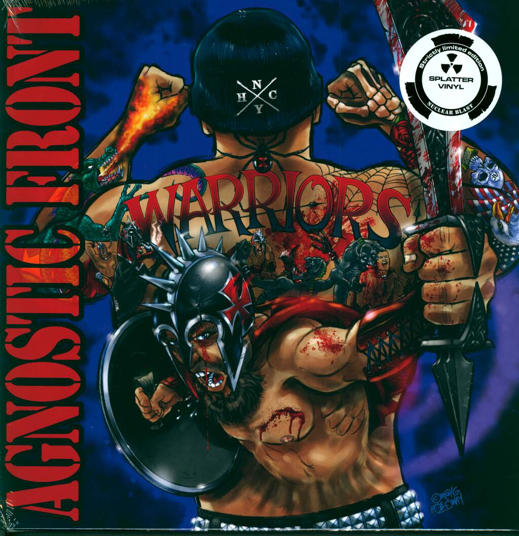 Agnostic Front: Warriors, LP (Vinyl)