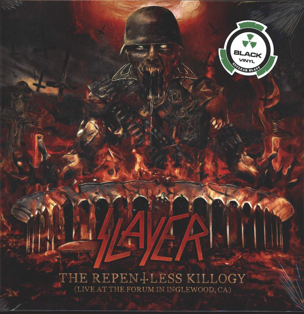 Slayer: The Repentless Killogy (Live At The Forum In Inglewood, CA), 2×LP (Vinyl)
