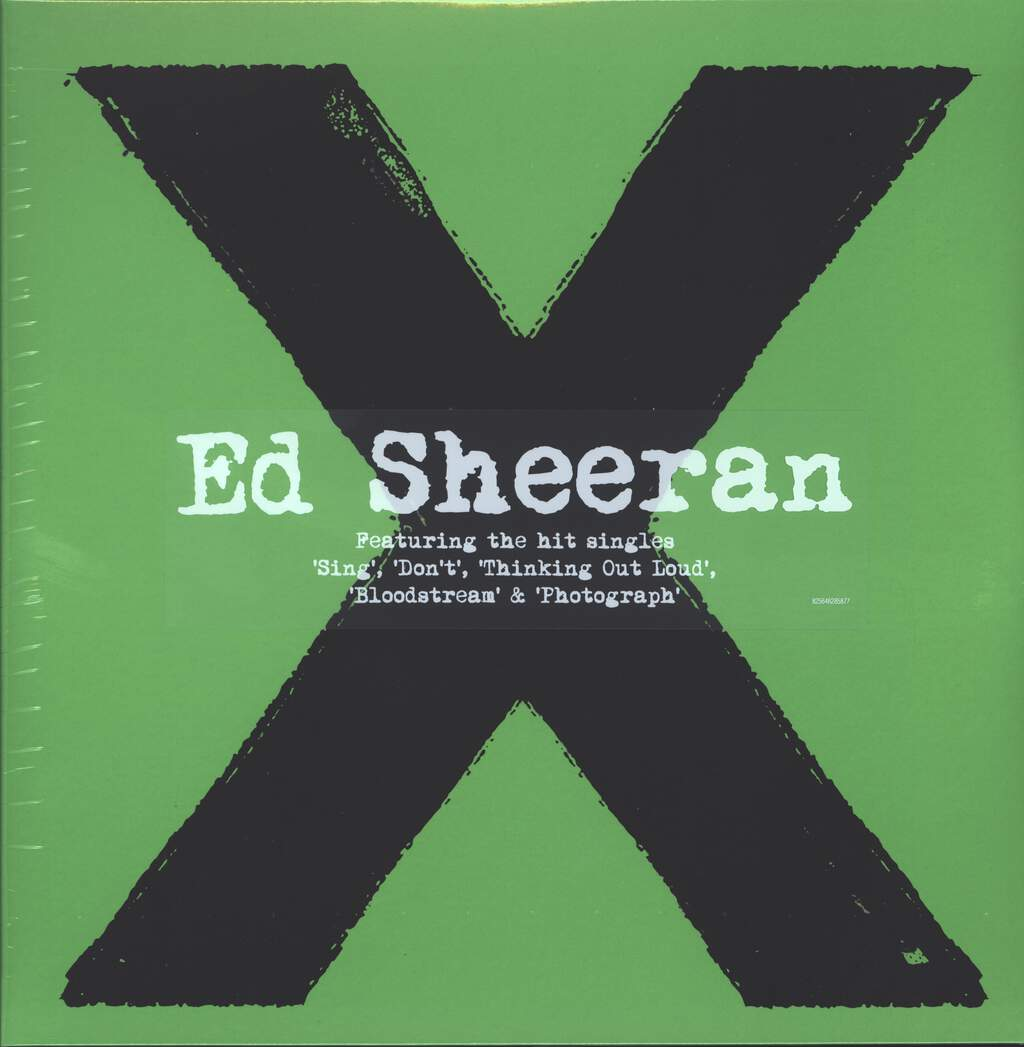 Ed Sheeran: X, 2×LP (Vinyl)