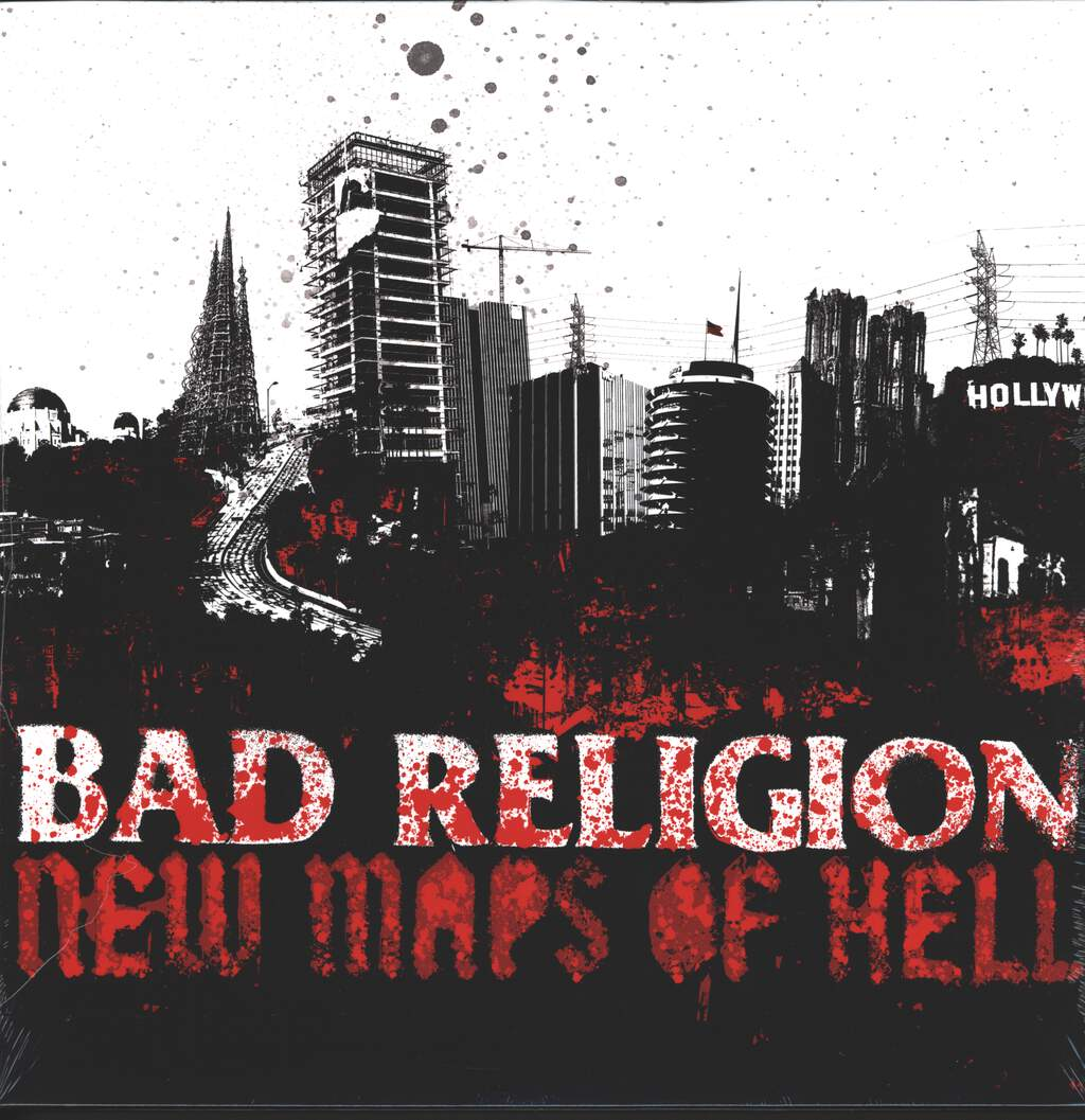 Bad Religion: New Maps Of Hell, LP (Vinyl)