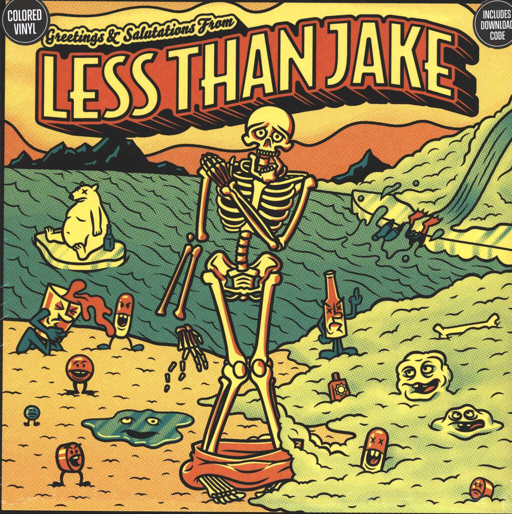 Less Than Jake: Greetings & Salutations From Less Than Jake, LP (Vinyl)