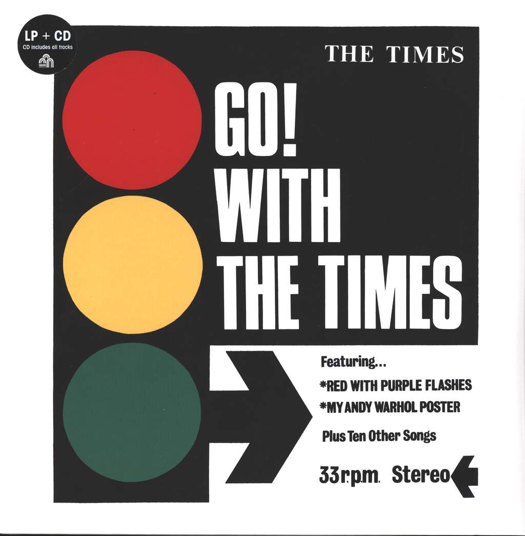 The Times: Go! With The Times, LP (Vinyl)