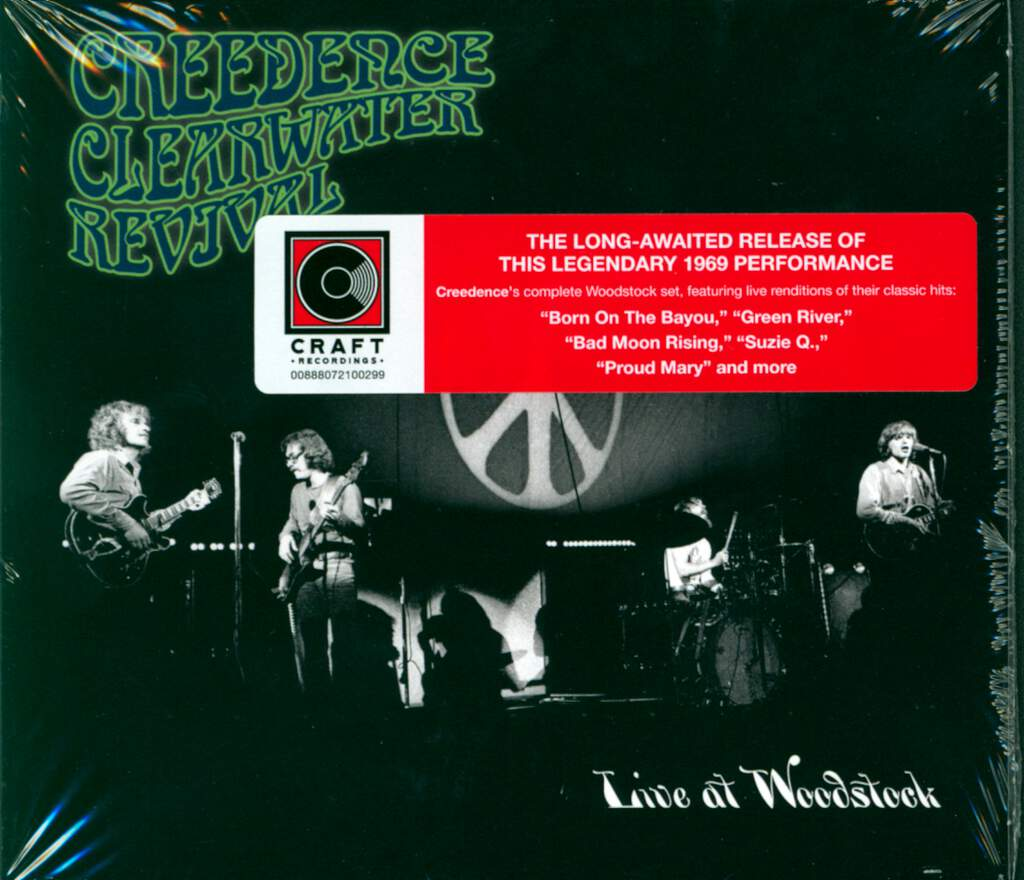 Creedence Clearwater Revival: Live At Woodstock, CD