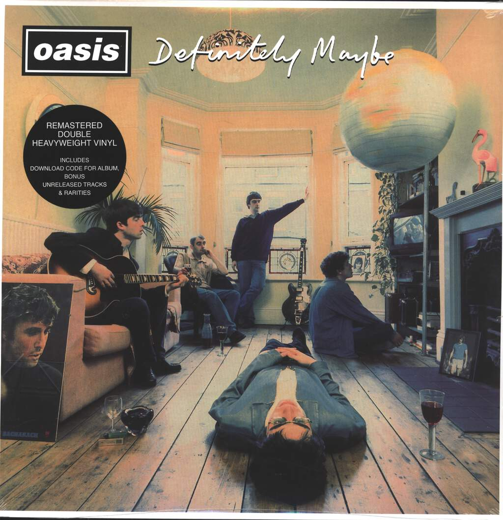 Oasis: Definitely Maybe, 2×LP (Vinyl)