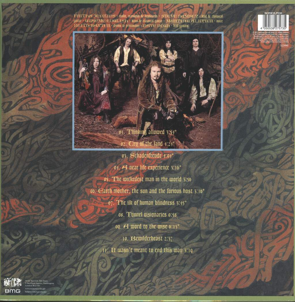 Skyclad: Jonah's Ark & Tracks From The Wilderness, 2×LP (Vinyl)
