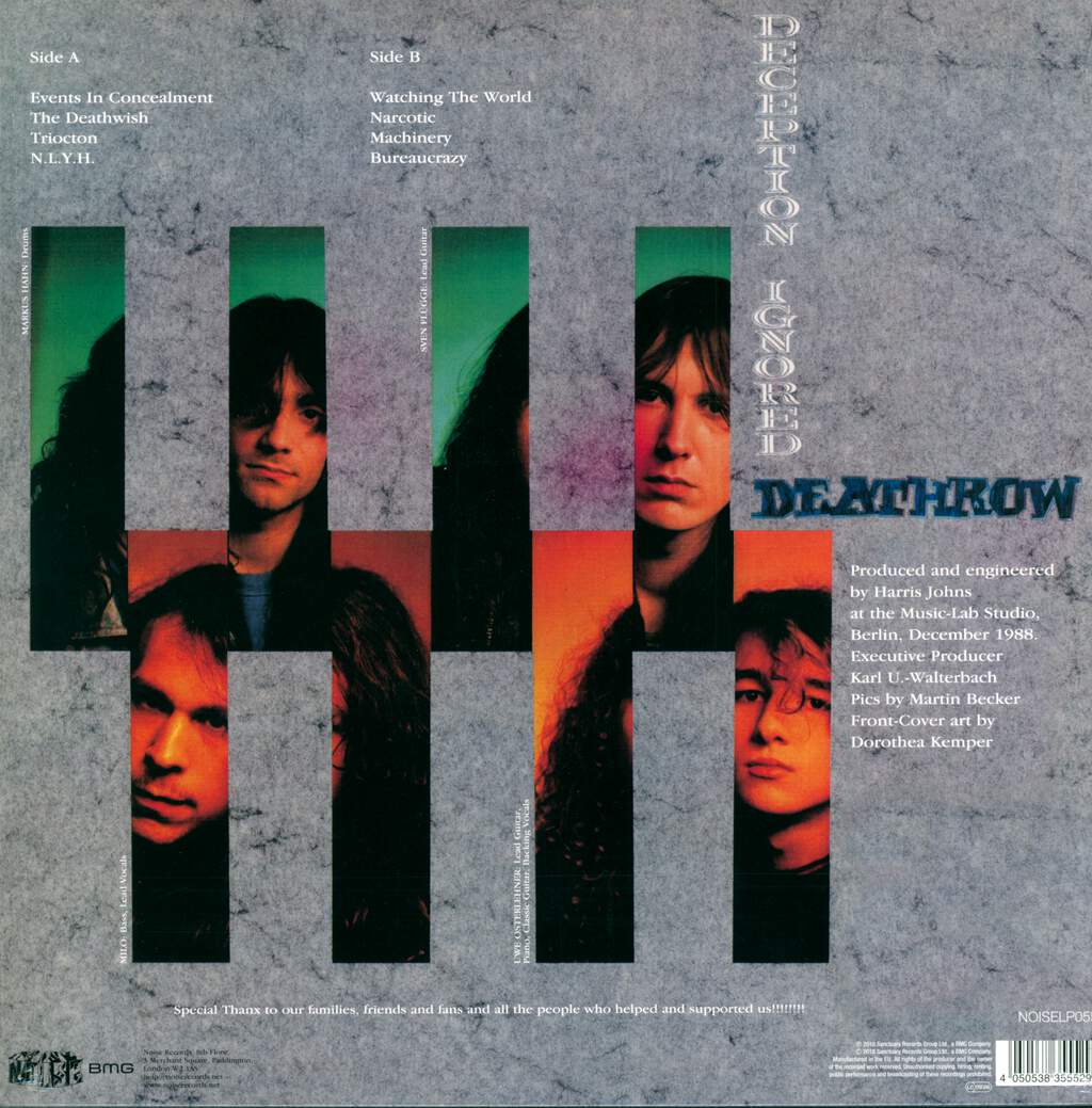 Deathrow: Deception Ignored, LP (Vinyl)