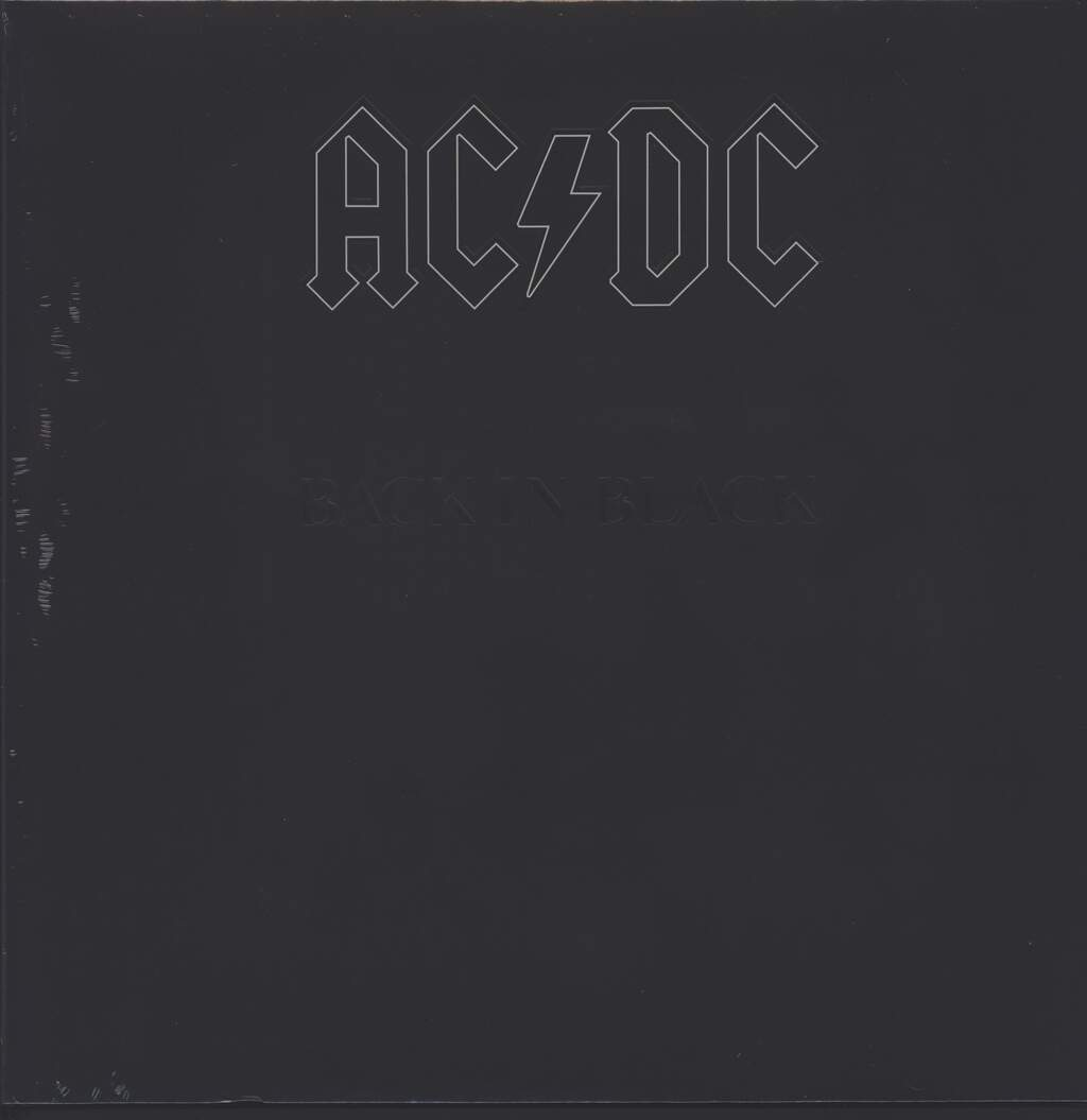 AC/DC: Back In Black, LP (Vinyl)