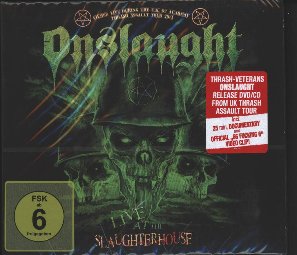Onslaught: Live At The Slaughterhouse, CD