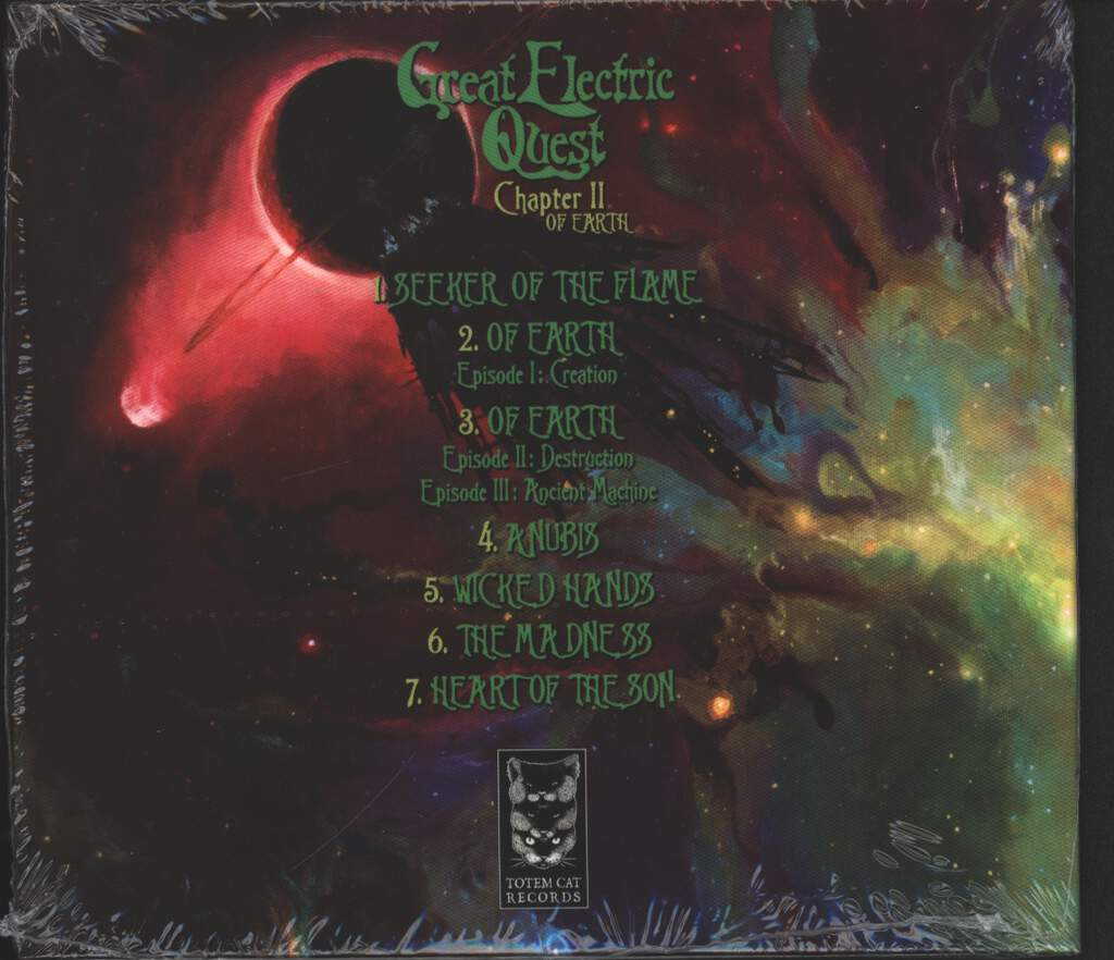 The Great Electric Quest: Chapter II - Of Earth, CD