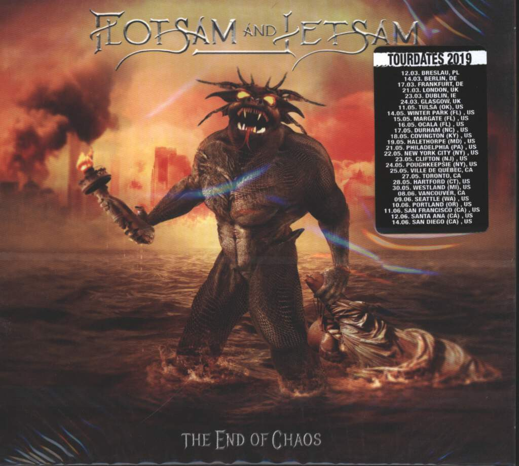 Flotsam and Jetsam: The End Of Chaos, CD