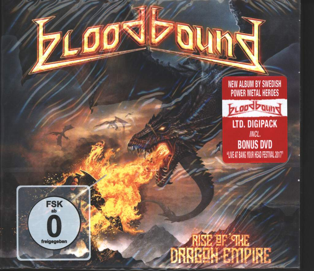 Bloodbound: Rise Of The Dragon Empire, CD