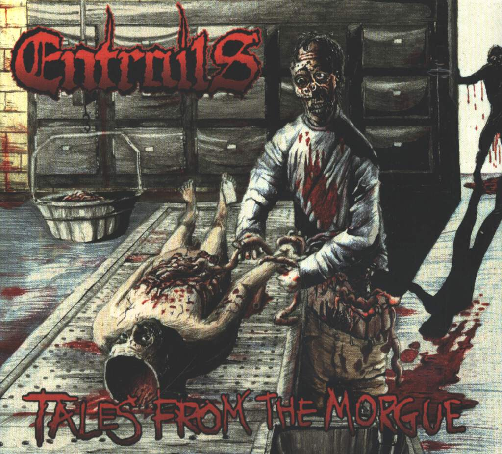 Entrails: Tales From The Morgue, CD