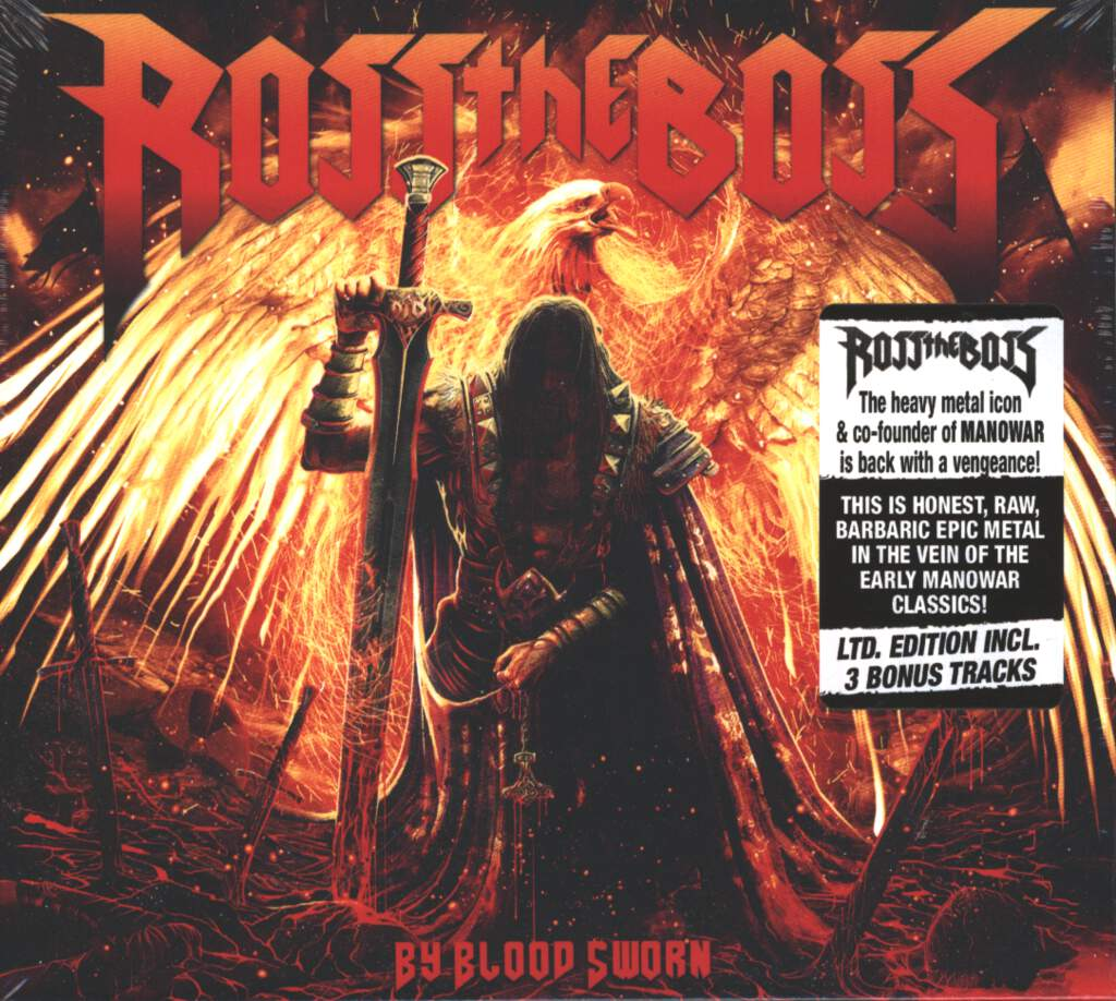 Ross The Boss: By Blood Sworn, CD