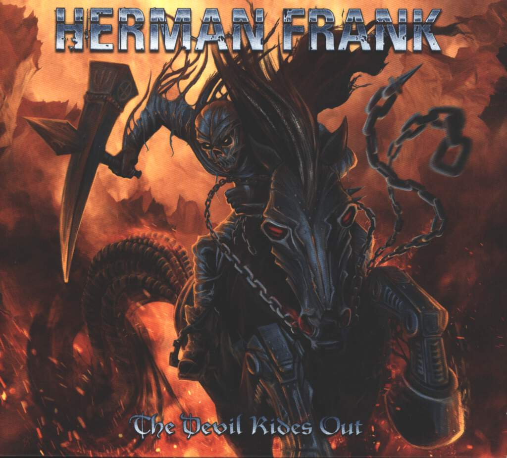 Herman Frank: The Devil Rides Out, CD