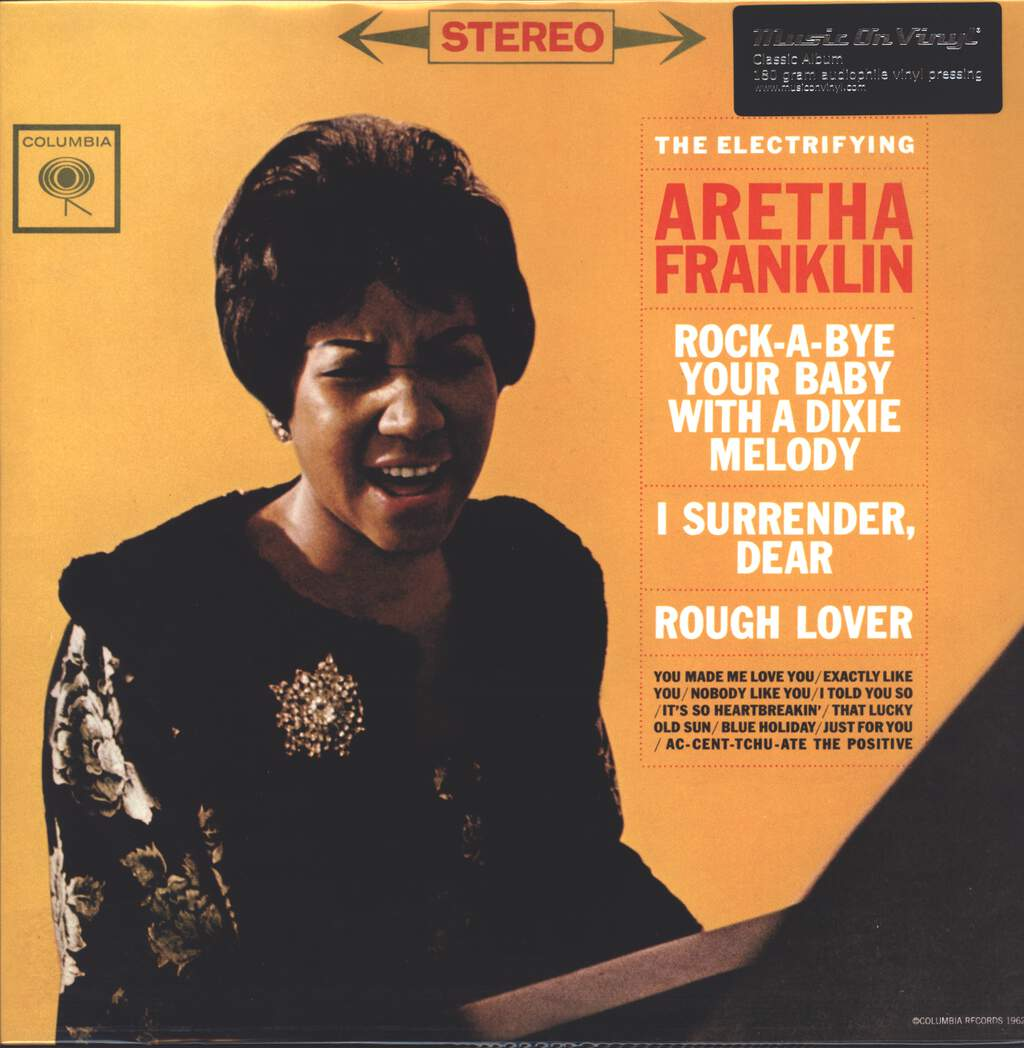 Aretha Franklin: The Electrifying Aretha Franklin, LP (Vinyl)