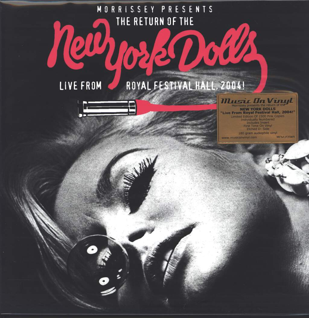 New York Dolls: Live From Royal Festival Hall, 2004, 2×LP (Vinyl)