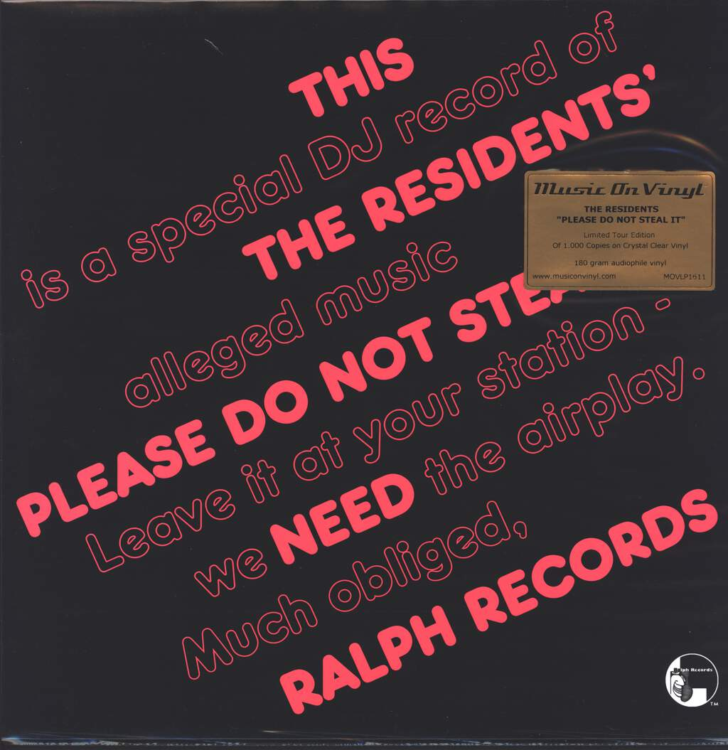 The Residents: Please Do Not Steal It!, LP (Vinyl)