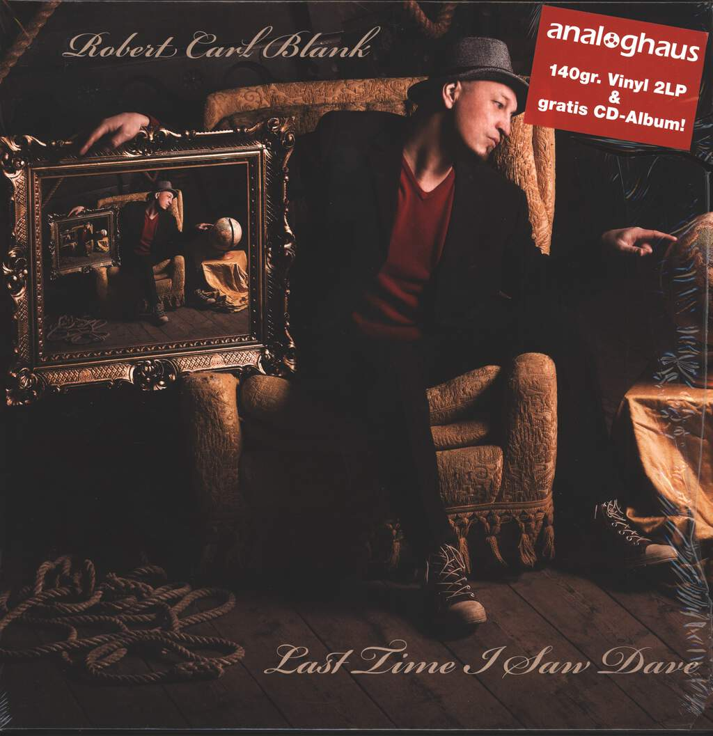 Robert Carl Blank: Last Time I Saw Dave, 2×LP (Vinyl)